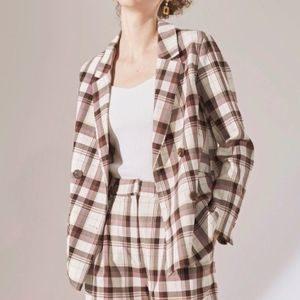 ギルティで新川優愛さんが着用しているジャケットブランドの参考画像