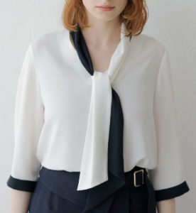ZIP!水卜アナの衣装ブランドに関する参考画像