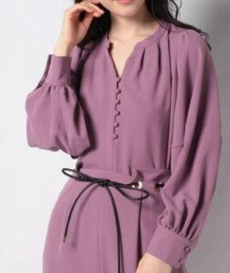 ZIP水卜アナの衣装ブランドに関する参考画像